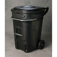Eagle Manufacturing 1697BLK 95 Gal Wheeled Waste E-cart W/lid-1