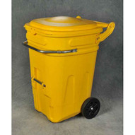 Eagle Manufacturing 1697Y 95 Gal Wheeled Spill Kit E-cart W/lid-1