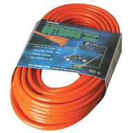 Coleman Cable 02309 100' 16/3 Sjtw-a Orangeext. Cord 3-cond. Rou-1