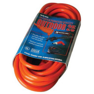 Coleman Cable 02407 25' 14/3 Sjtw-a Red Extcord 125v-1