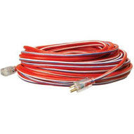 Coleman Cable 02549USA1 12/3 100' Sjtw Red- White & Blue Made In Usa Cor-1