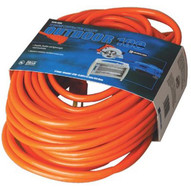 Coleman Cable 02559 100' 12/3 Stw-a Orange Ext. Cord 600v-1