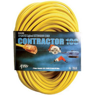 Coleman Cable 02689 100' 10/3 Sjtw-a Yellowextension Cord-1