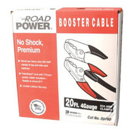 Coleman Cable 08760 20' 500amp 4ga. Black Booster Cable W/ Hd Parro-1