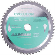 Evolution 180BLADEAL 7 X 54T X 20MM For Cutting Aluminum, Max RPM 3500-1