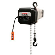 Jet 181110 Volt 1t Variable-speed Electric Hoist 1ph/3ph 230v 10' Lift-1