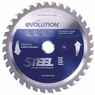 Evolution 185BLADEST 7-14 Steel x 40T x 20mm Arbor w58 Arbor Reducer For Rage & EVOSAW180HD Saw-1
