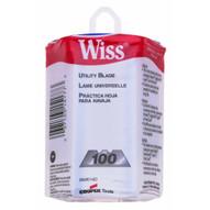 Wiss Scissors 186-RWK14D .025 Utility Knife Blade W/dispenser-1