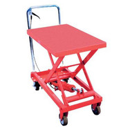 Hit Tools 20-LT660 Hydraulic Lift Table Capacity: 660 lbs, Max. Height: 34 5/8-1