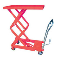 Hit Tools 20-LT770D Hydraulic Lift Table Capacity: 770 lbs, Max. Height: 51 1/8-1