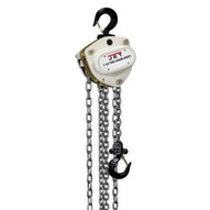 Jet 201130 L-100-150wo-30, 1-1/2-ton Hand Chain Hoist With 30' Lift & Overload Protection-1
