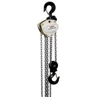Jet 208120 L-100-500wo-20, 5-ton Hand Chain Hoist With 20' Lift & Overload Protection-1