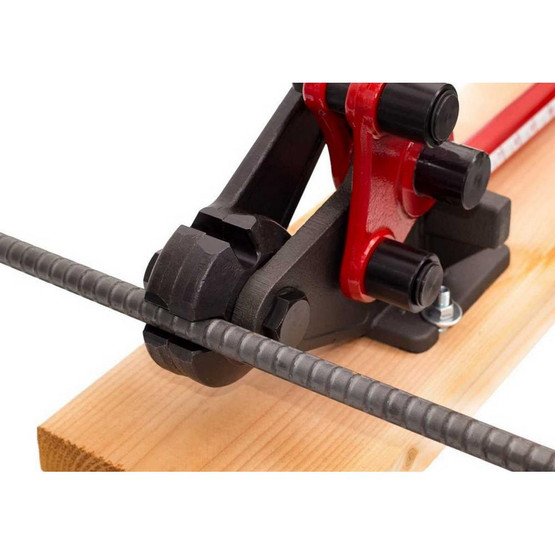 HIT Tools 22-RC16W-3 1/2 & 5/8 REBAR CUTTER & BENDER with WOOD BOARD-7