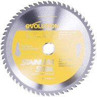 Evolution 230BLADESSN 9 X 60T X 1 For Cutting Stainless Steel Max RPM 2700-1