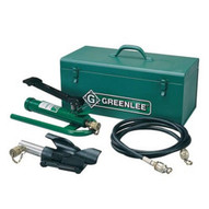 Greenlee 802 Hydraulic Cable Bender With High Pressure Hose Unit And Storage Box-1