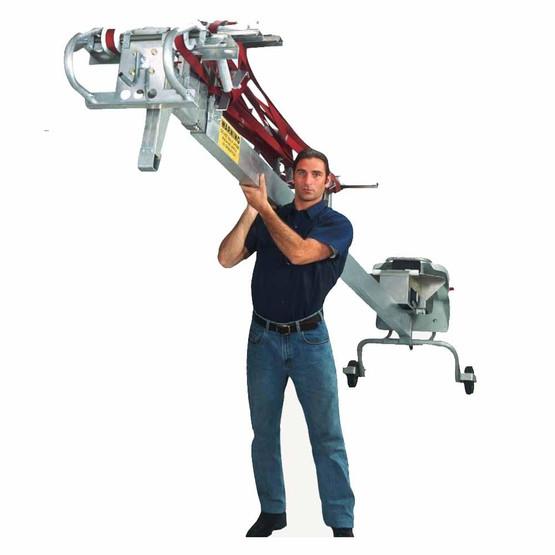 Lift Conveyors 35 Foot Portable Belt Lift Conveyor-3