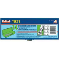 Eklind Tool 10994 14-pc. Torx Long Hex Keyset T6-t55 W/gr-1