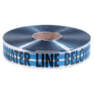 Empire Level 31-021 2x1000' Blue Caution Water Line Buried Belo-1