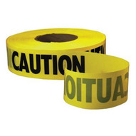 Empire Level 71-1001 Econo Grade Caution Tape-yellow W/black Print-1