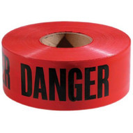 Empire Level 77-1004 3x 1000' Red With Blackdanger Tape-1