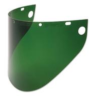 Fibre-Metal 4199DGN 9-3/4x19 Drk Green Faceshield .040-1