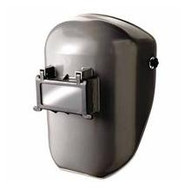 Fibre-Metal 4906GY Welding Helmet Shell Gray W/4001 Mounting Cup-1