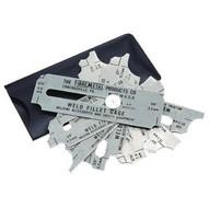 Fibre-Metal WFG Weld Fillet Gage Set 1/8-1-1