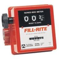 Fill-Rite 807C-1 1 In-line Flow Meter20gpm Serie-1