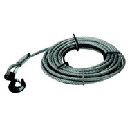 Jet 286514 1-1/2-ton 7/16 Wire Rope 66 Feet-1