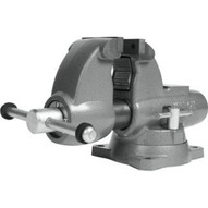 Wilton 28825 Combination Pipe And Bench 3-12� Jaw Round Channel Vise With Swivel Base-7