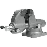 Wilton 28826 Combination Pipe And Bench 4-12� Jaw Round Channel Vise With Swivel Base-2