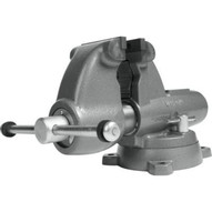 Wilton 28827 Combination Pipe And Bench 5� Jaw Round Channel Vise With Swivel Base-1