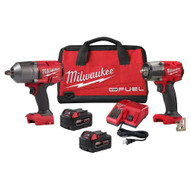 Milwaukee 2988-22 M18 High Torque 1/2in and 3/8in