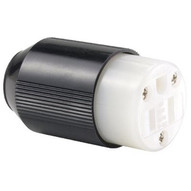 Cooper Wiring Devices 5269N 15 Amp Blk Connector Body Ind Grade Auto Grip-1