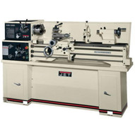 Jet 323104 Ghb-1340a Lathe With Newall Dp500 Dro With Taper Attachment And Collet Closer-1