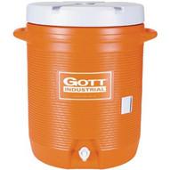 1610-IS-ORAN 10 Gallon Gott Cooler-1