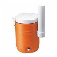 Rubbermaid 1841106 Cooler 5gal Water W/ Cupdispenser -oran-1