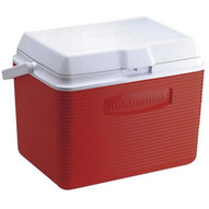Rubbermaid FG2A13-04-MODRD 24 Quart Ice Chest Red-1