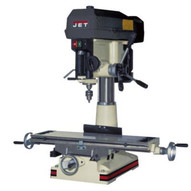Jet 350119 Jmd-18 Mill/drill With X-axis Table Powerfeed-1