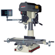 Jet 350129 Jmd-18pfn Mill/drill With Newall Dp700 Dro And X-axis Table Powerfeed-1