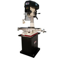 Jet 350134 Jmd-18 Milldrill With Newall Dp500 Dro And X-axis Table Powerfeed-1