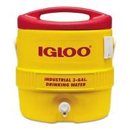 Igloo 431 3gal Red/yellow Coolerplastic Ind-1