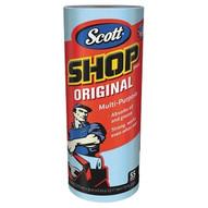 Kimberly-Clark 75130 Scott Shop Towel Rolls Blue (30/1)-1