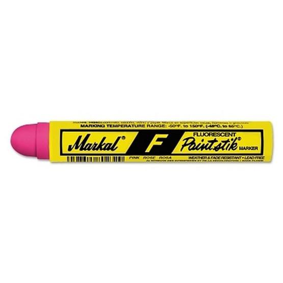 Markal 82842 Pink Fluorescent F-paintstik Marker-1
