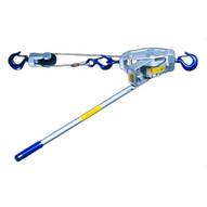 Lug-All 3000-30SH 1-1/2ton Cable Winch-hoist W/latch Hook-medium-1