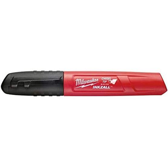 Milwaukee 48-22-3103 Medium Chisel Black Inkzall Marker-1