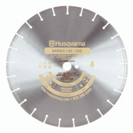 Husqvarna 773262 Banner Line Gold 150B - 26 (660) x .155 Blade For Hard To Critically Hard Aggregate With Light To Medium Steel Reinforcing-1