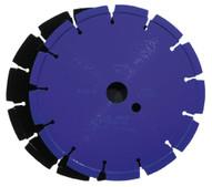 Husqvarna 540534 Banner Line Crack Saw Blue 200B - 8 (203) x .375 Blade-1