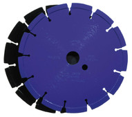 Husqvarna 540535 Banner Line Crack Saw Blue 200B - 8 (203) x .500 Blade-1