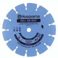 Husqvarna 590416 SD5+ - 9 (230) x .095 General Purpose Green Concrete Blade-1